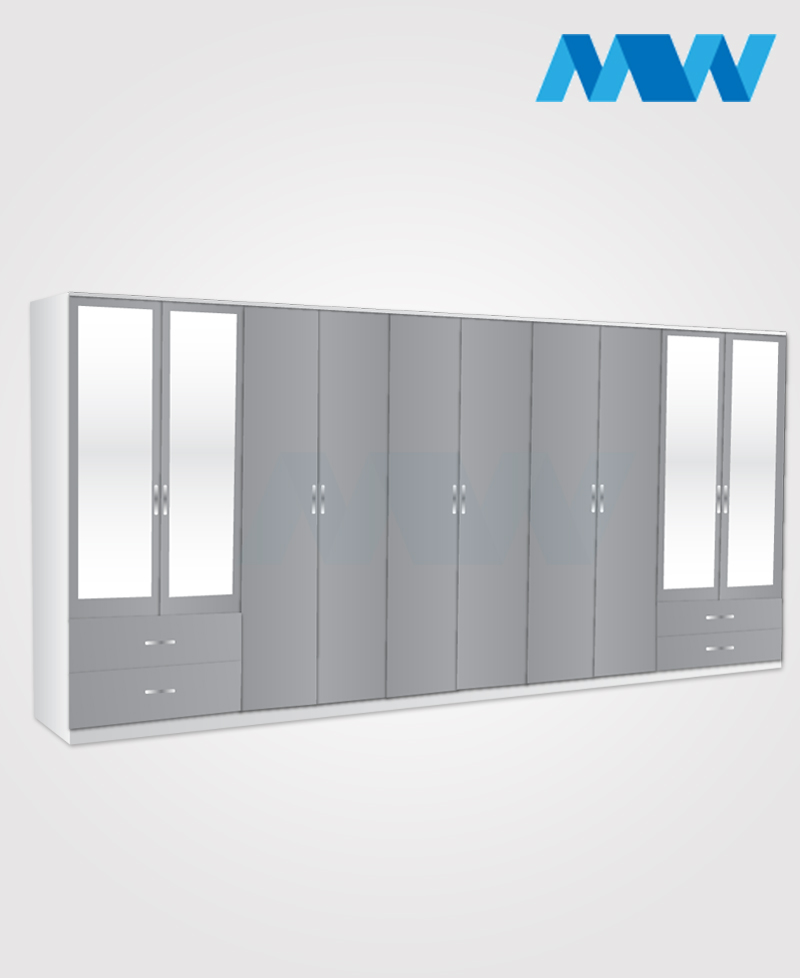 10D 10M 4D grey adn white