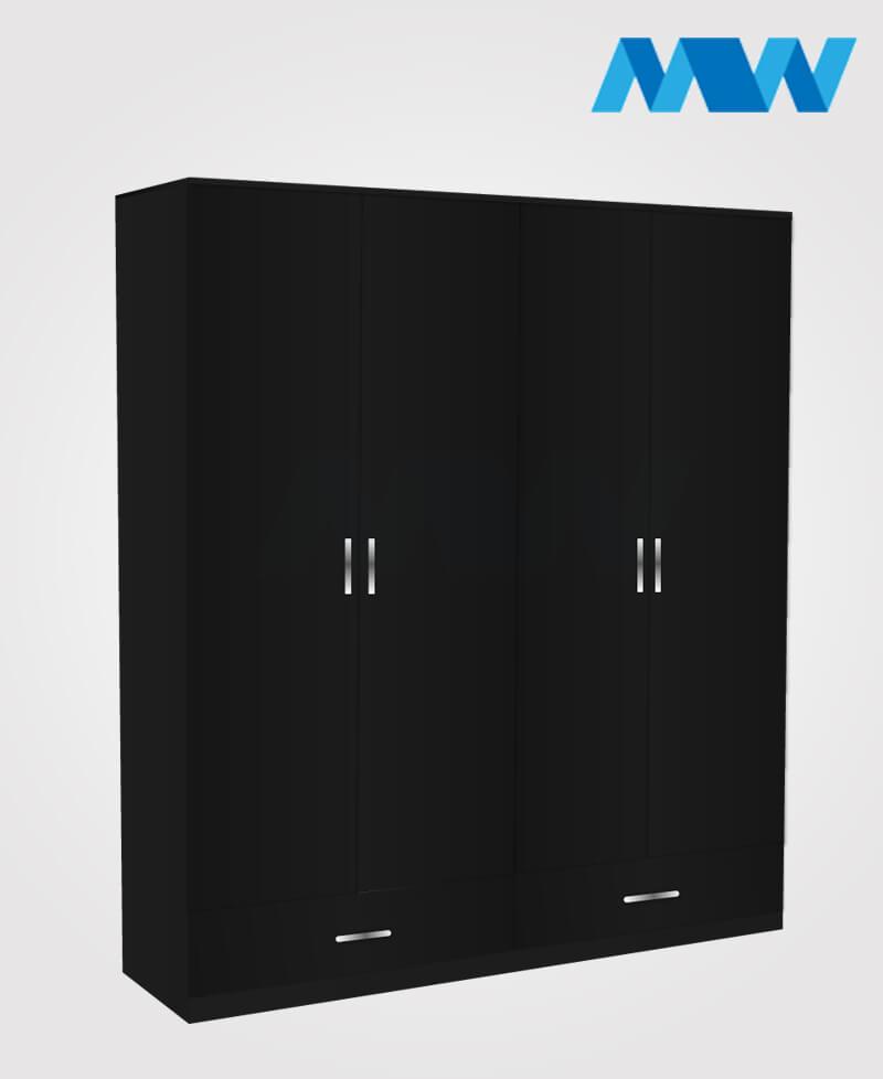 4d 2d black
