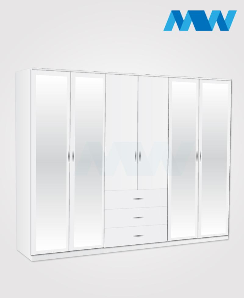 6D 4M 3D white