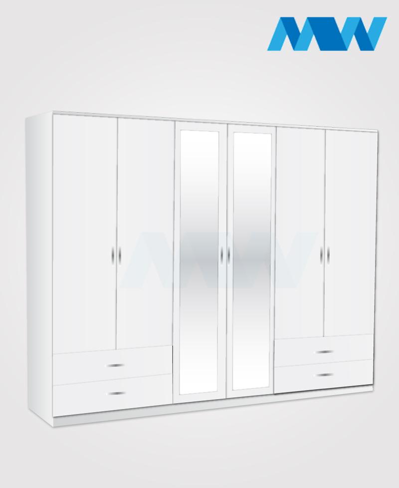 6d 2m 4d white