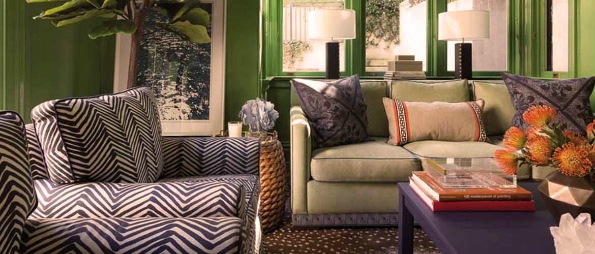 Close To Nature 10 Ideas For Green Living Room The Magic Woods