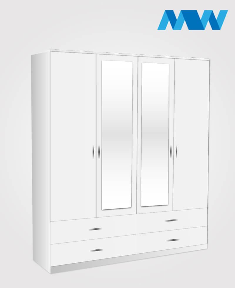 n 4d 2m 4d white