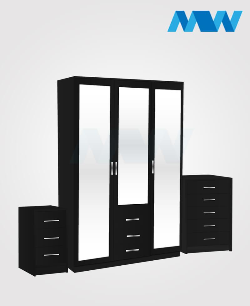 3d 3m 3d full set black