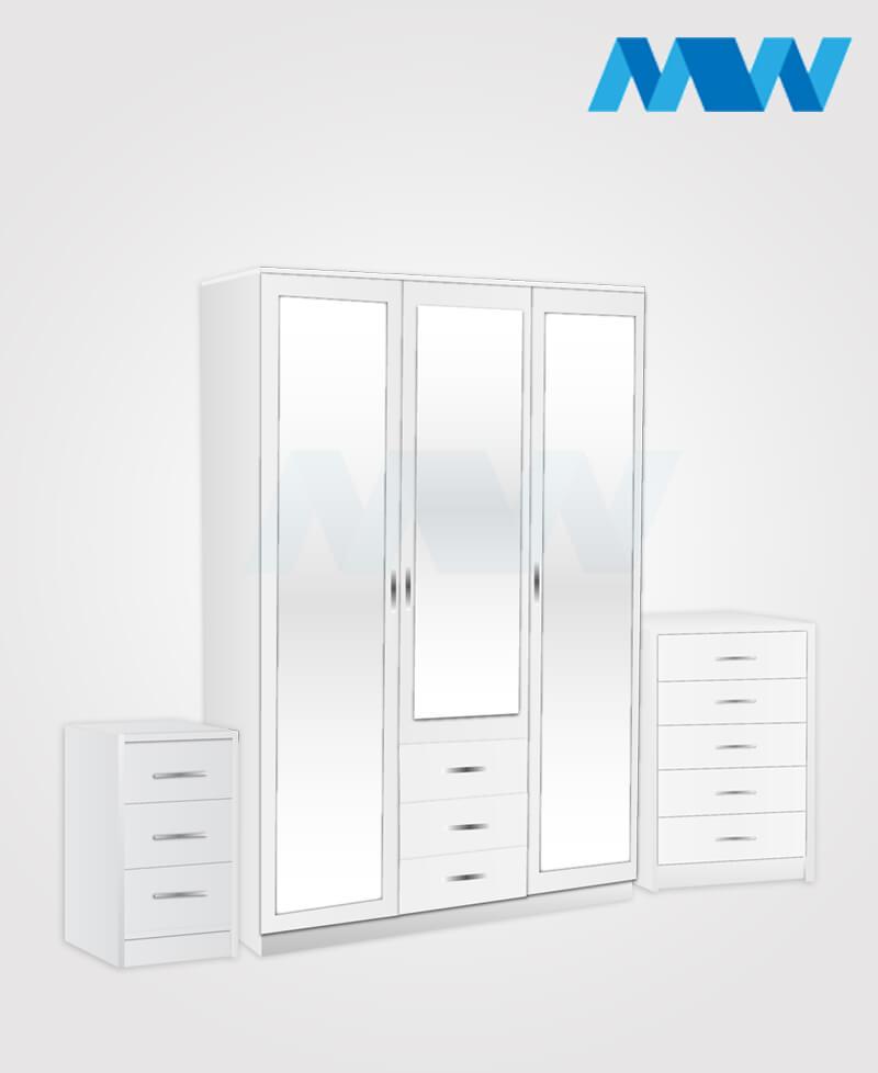 3d 3m 3d full set white