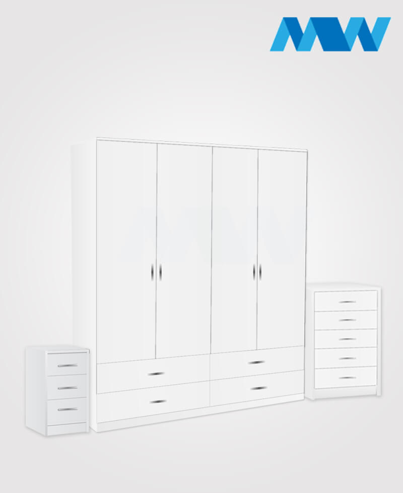 4d 4d full set white