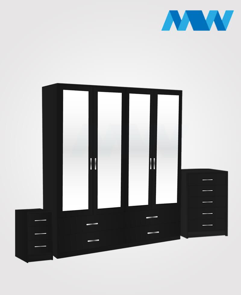 4d 4m 4d full set black