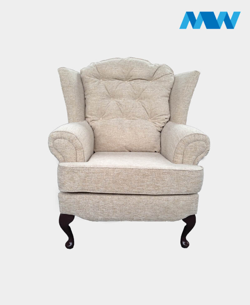 Helen sofa chair white