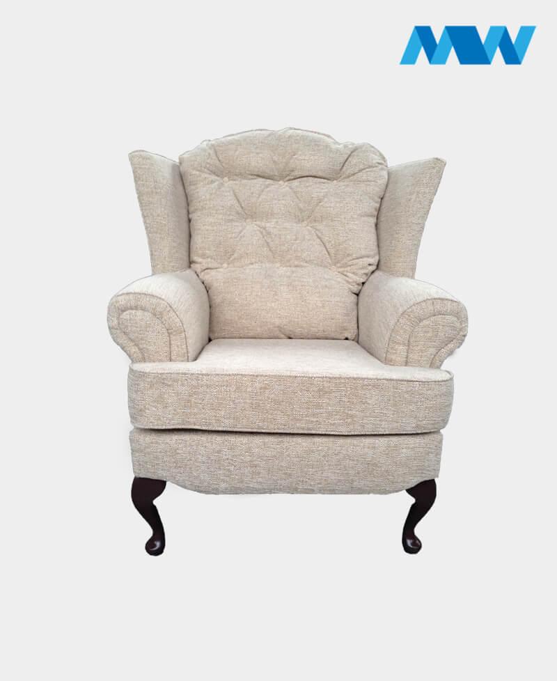 Helen sofa chair white