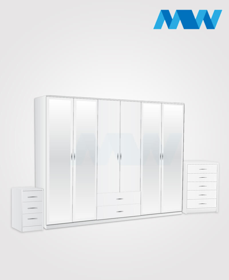 6d 4m 2d full set white