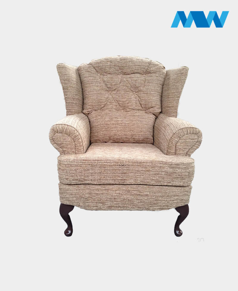 Helen sofa chair oak