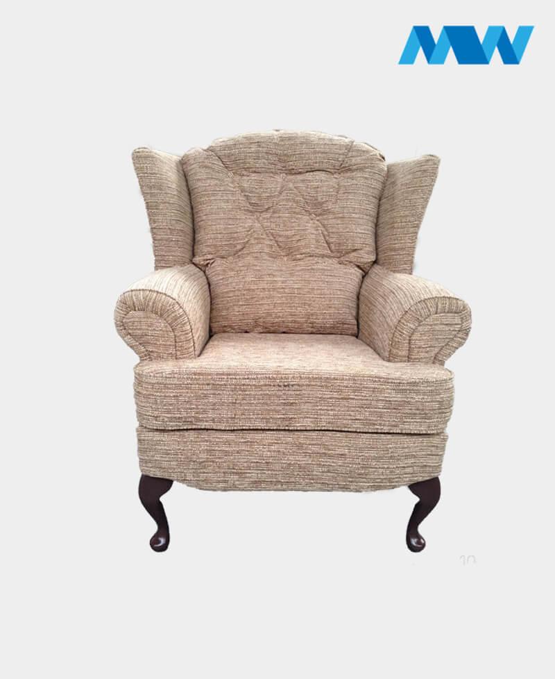 Helen sofa chair oak