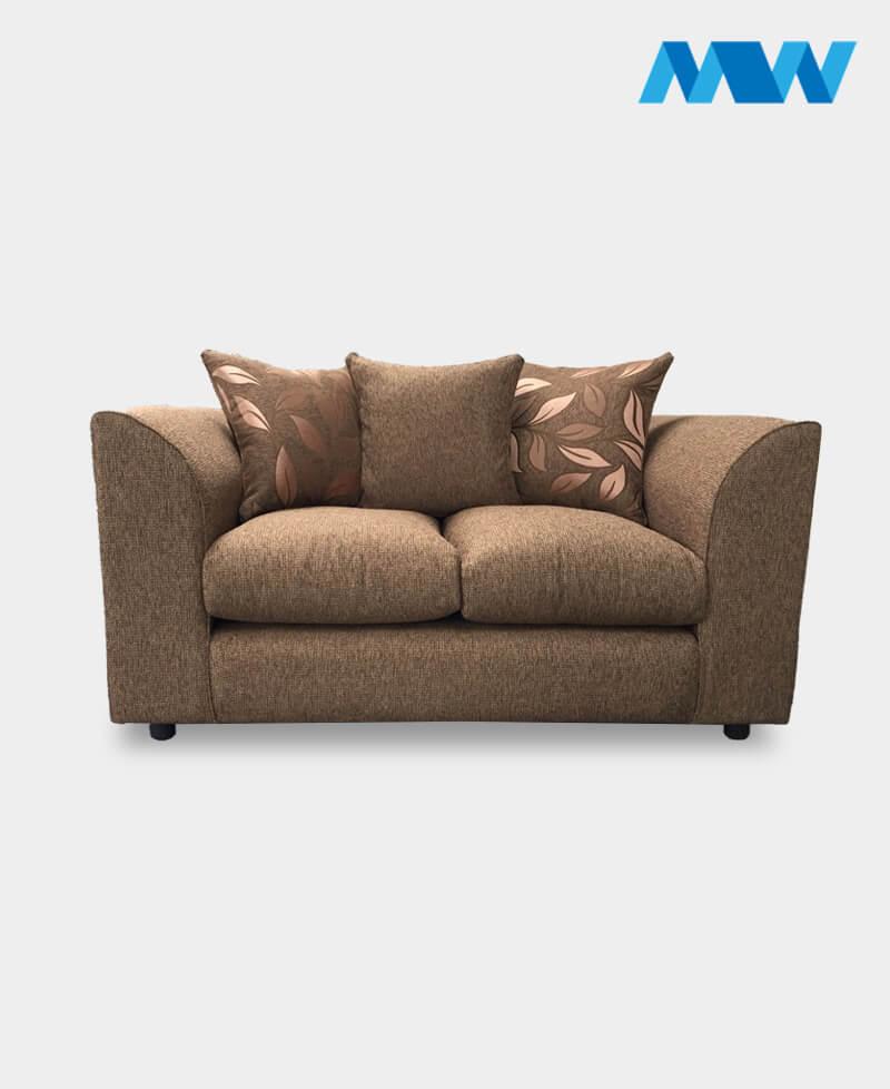 Daina sofa 2 seater brown