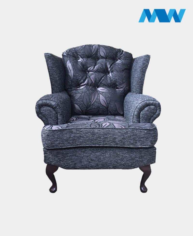 Helen sofa chair grey