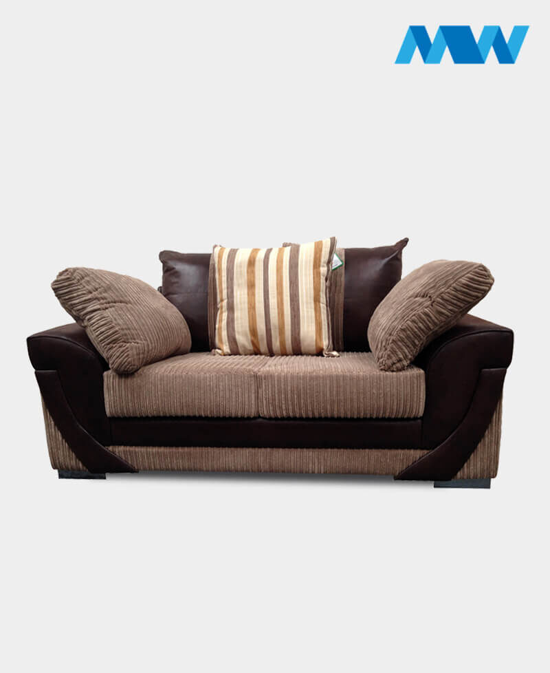Lush 2 Seater Sofa brown