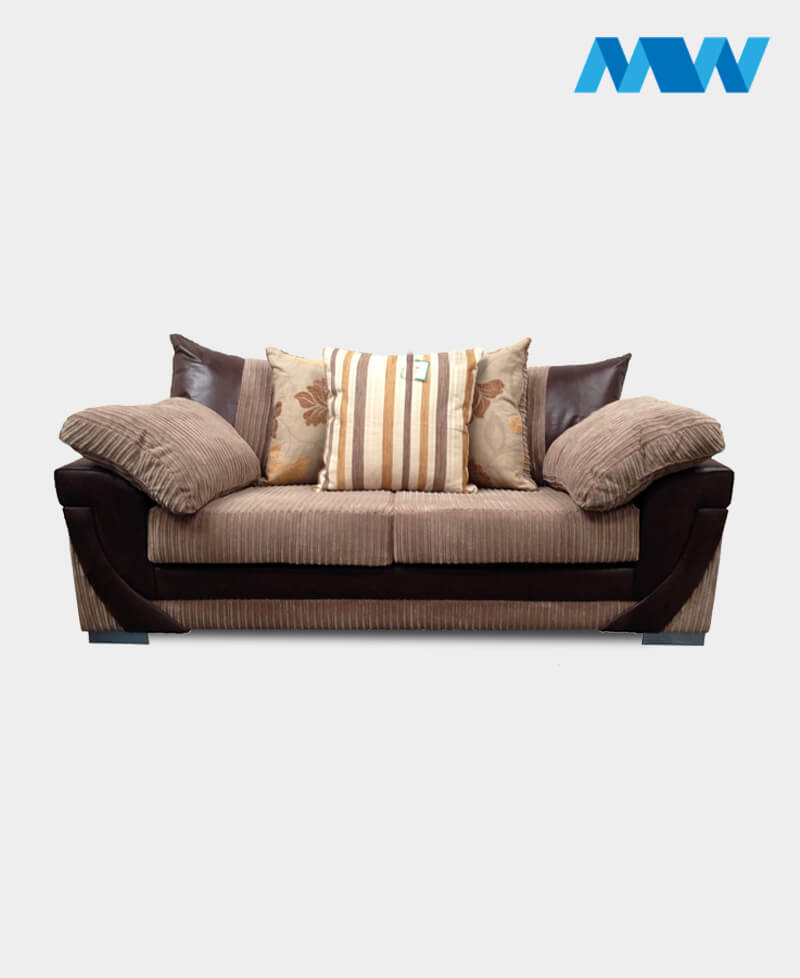 Lush 3 Seater Sofa brown