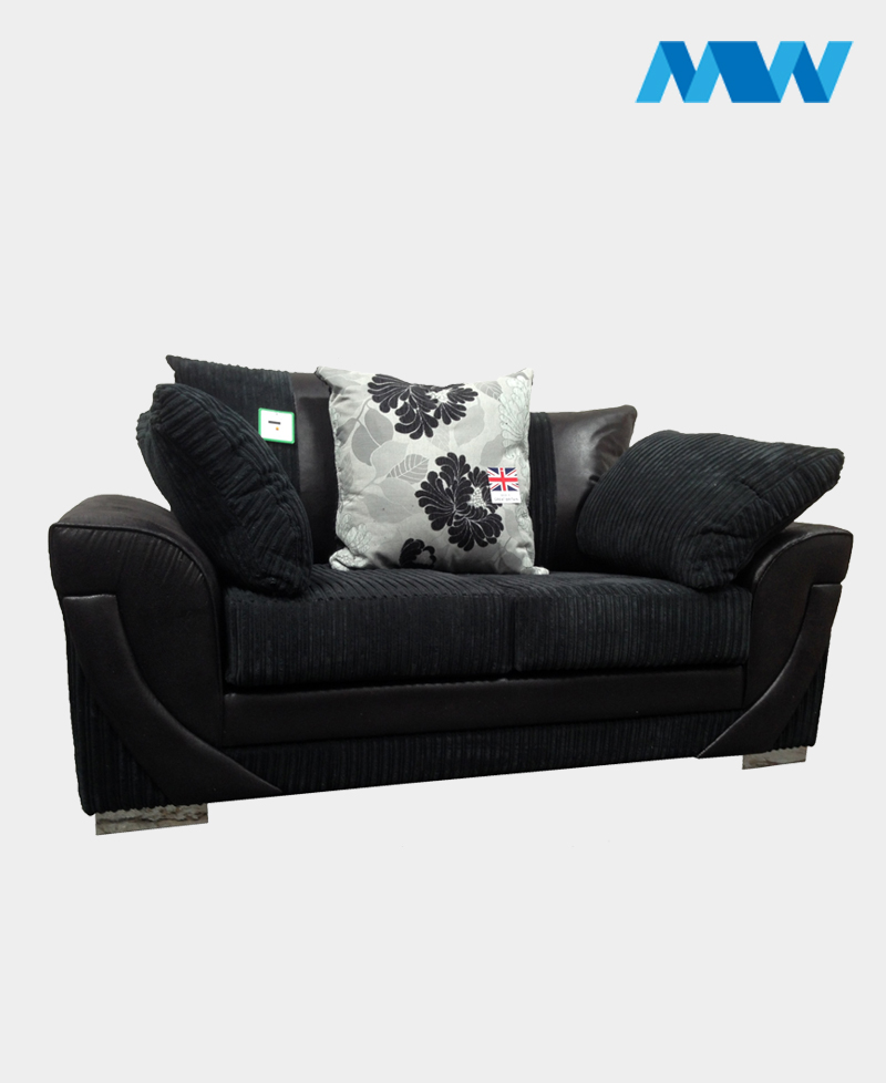 Lush 2 Seater Sofa black