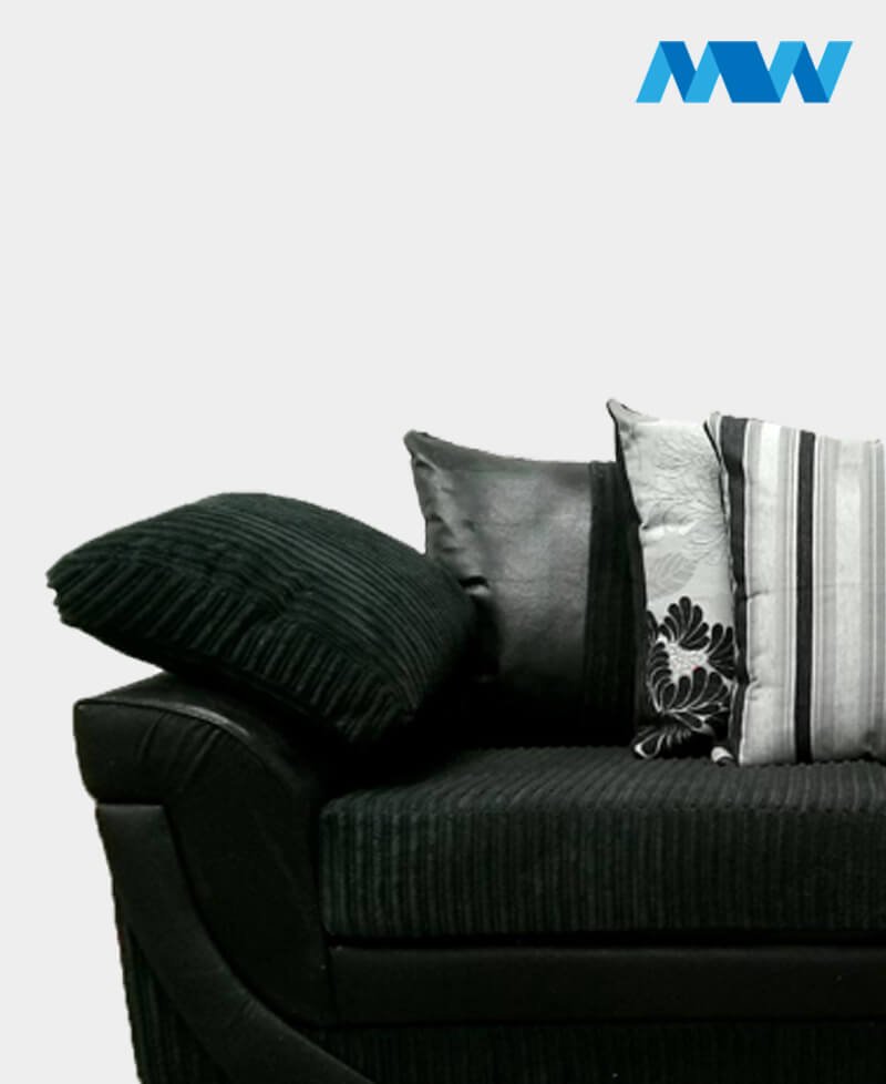 Lush 2 Seater Sofa black
