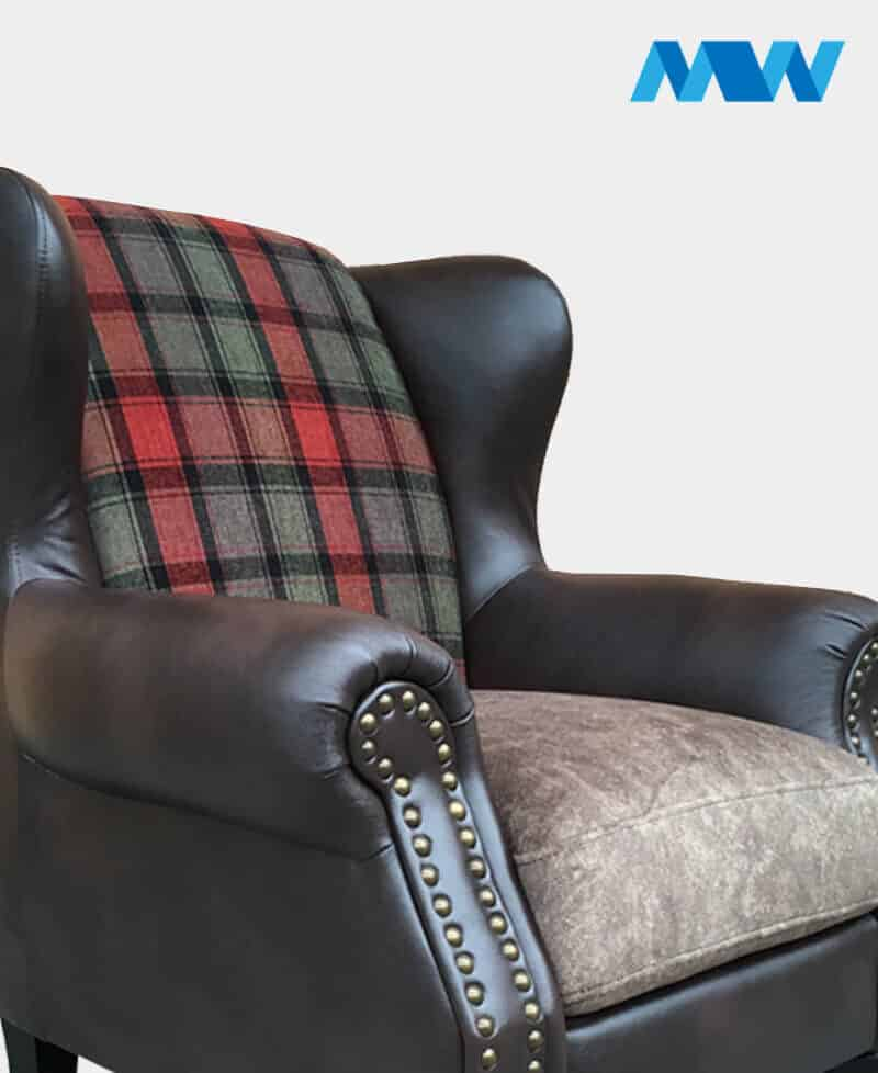 Charlotte Sofa Chair Brown