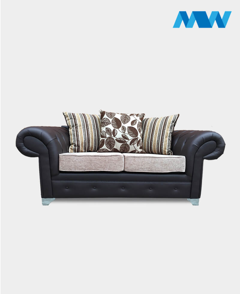 Chesterfield 2 Seater Sofa brown