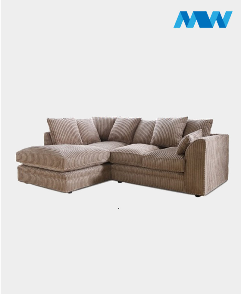 Byron Fabric Corner Sofa tortilla brown