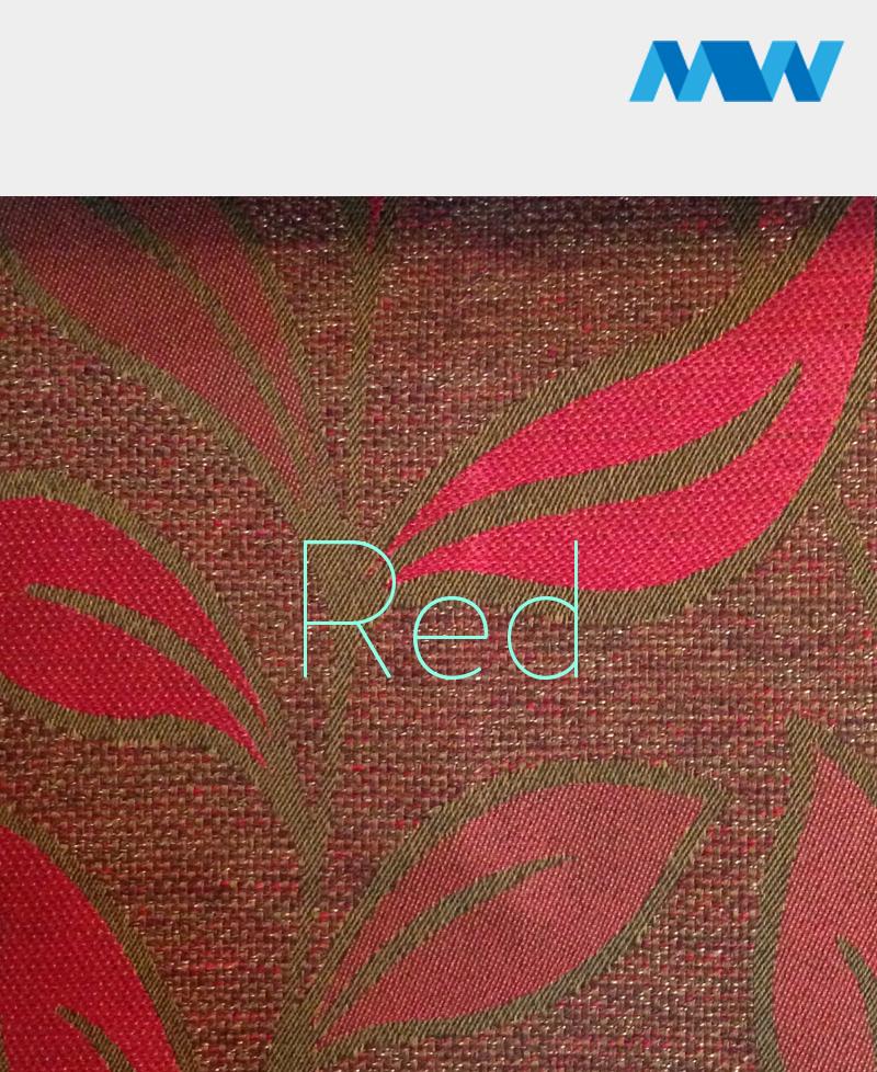 dianna crushed velvet sofa red color