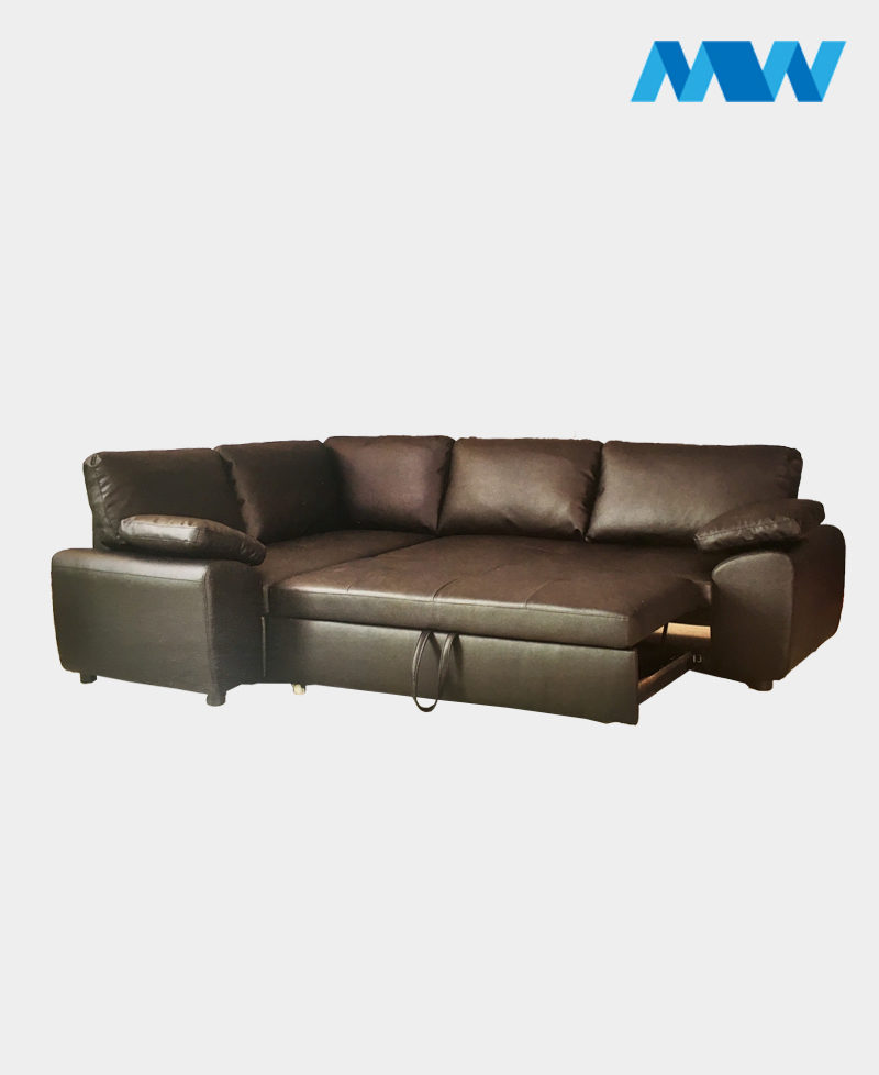 Enzo Corner Sofa Left corner brown
