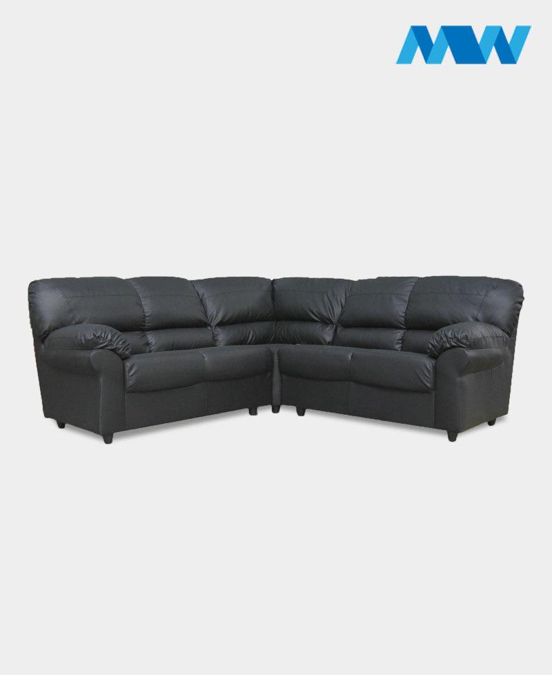 Maxi Corner Sofa black