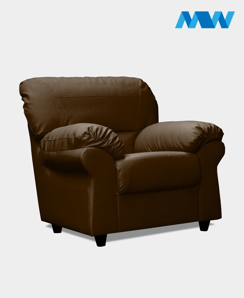 Maxi Sofa Chair brown side view