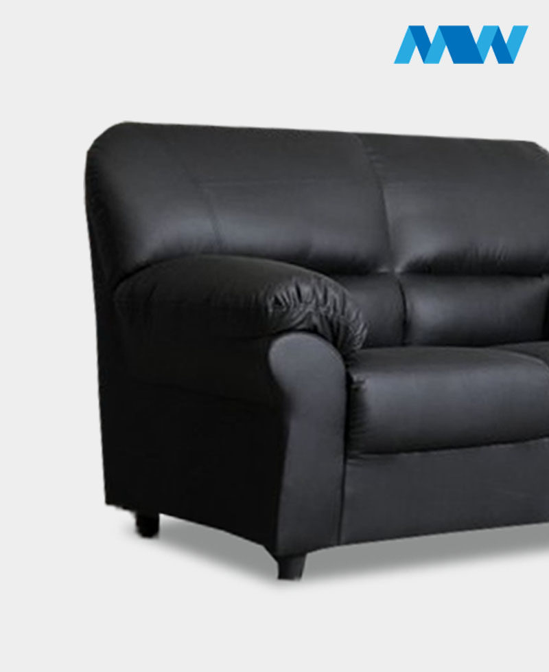 Maxi 2 Seater Sofa black
