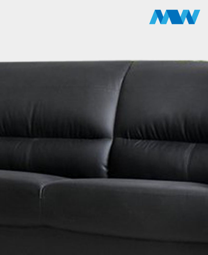 Maxi 3 Seater Sofa Black