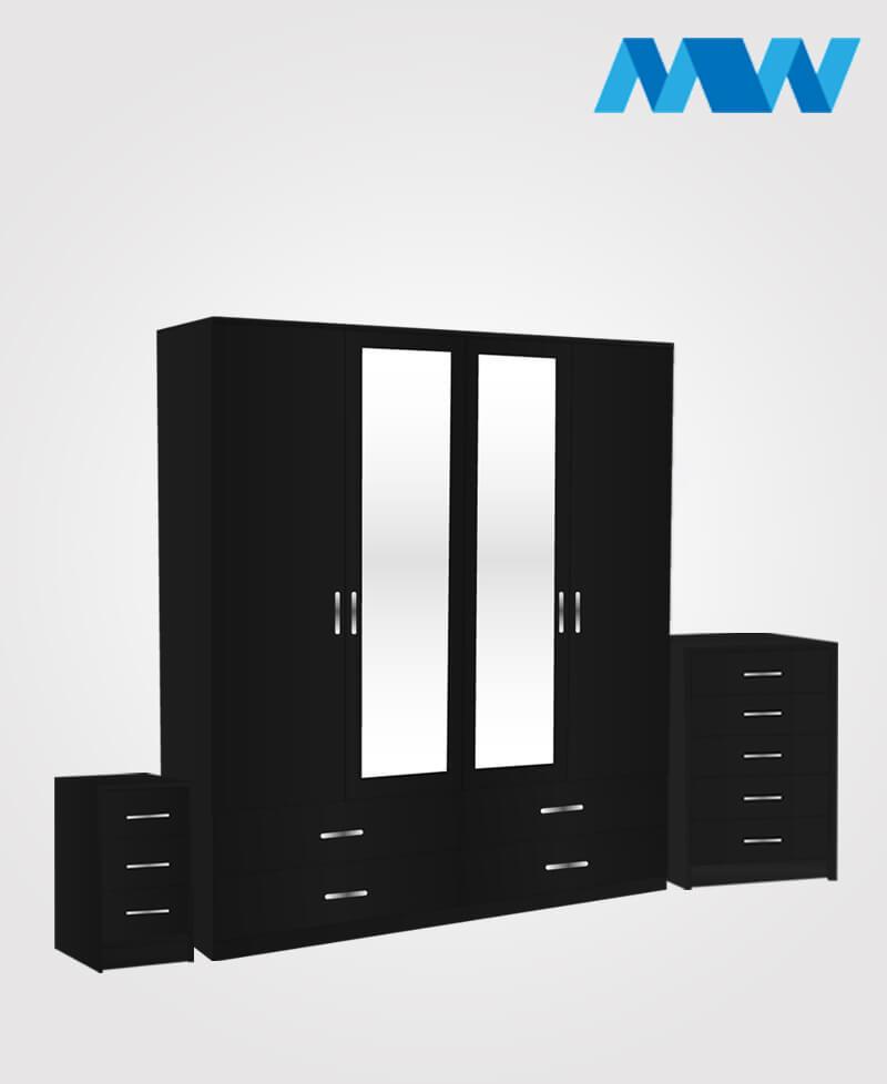 n 4d 2m 4d full set black