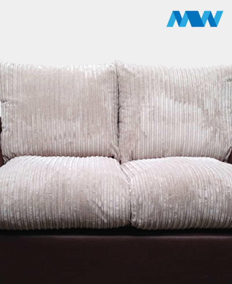New Sam 2 Seater Sofa brown and beige