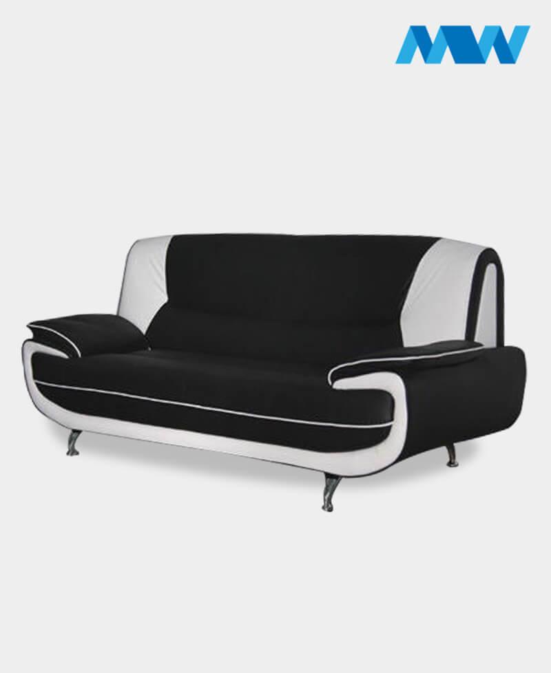 palmerosofa 2 seater black and white