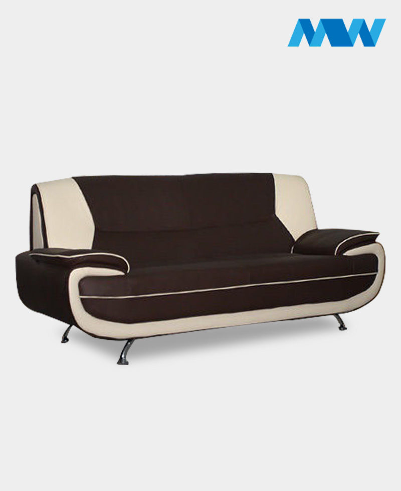 Palmero 2 Seater Sofa brown and cream