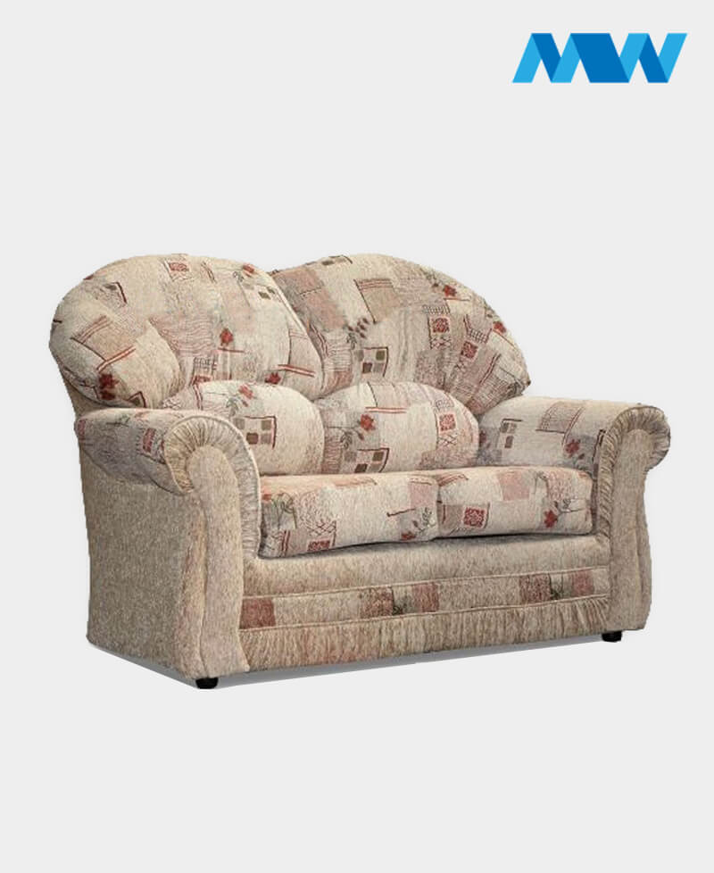 Roma 2 Seater Sofa Chenille And Fabric